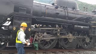 秩父鉄道SLパレオエクスプレス 三峰口の転車台 その3