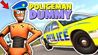 """Policeman Dummy"" - BeamNG Action Film | GipsoCartoon"
