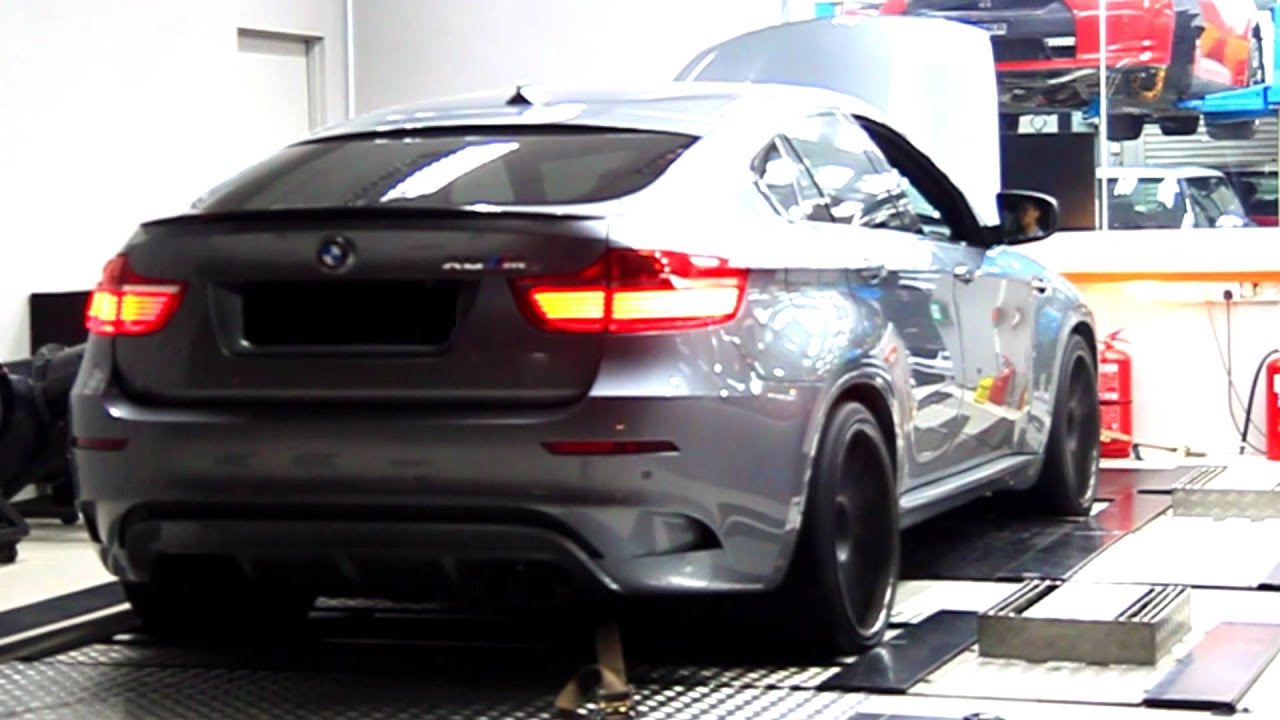 Mckee Racing Bmw X6m With Akrapovic Evolution Exhaust