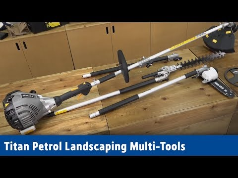 Screwfix - TITAN PETROL LANDSCAPING MULTI-TOOLS