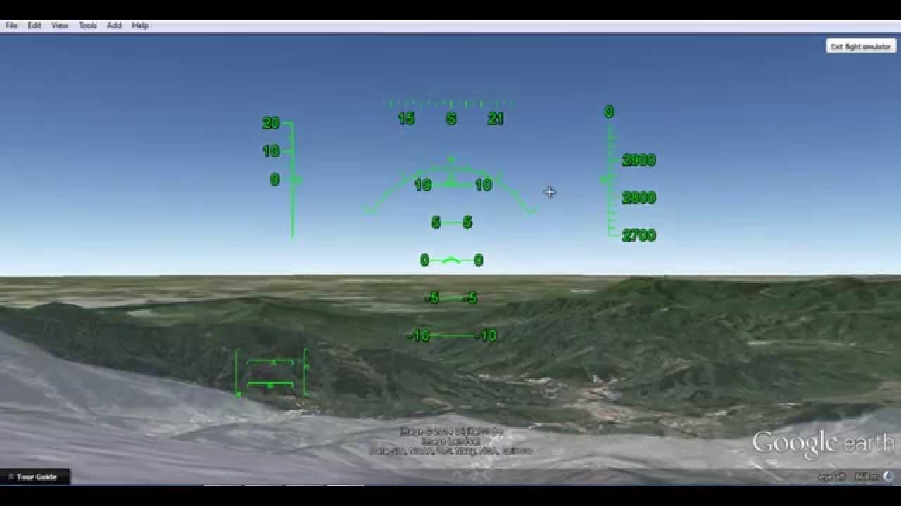 Google Earth Flight Simulator Great Wall Of China Youtube