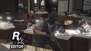 Diamond Shopping The Movie   Rockstar Editor   GTA 5 Online