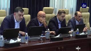 الحكومة تبحث تحديات قطاعات المياه والصحة والسوق المالي  - (22-6-2019)