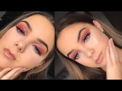 SUNSET Eyeshadow Makeup Tutorial | ABH Modern Renaissance