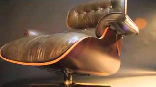 Eames Lounge Chair & Ottoman Xtreames Warrior