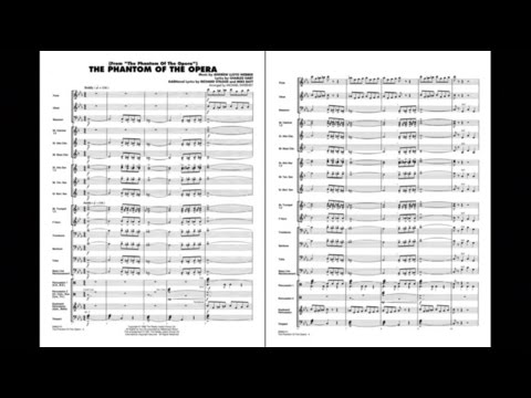 The Phantom Of The Opera (Main Theme) By Webber/arr. Sweeney