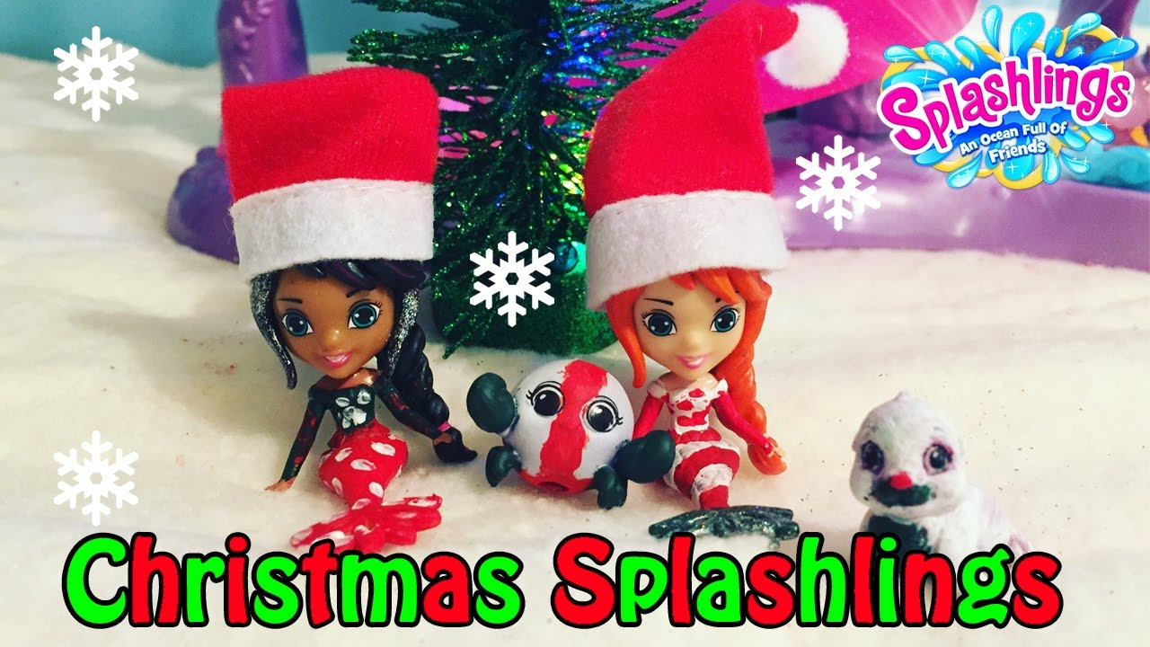 Diy do it yourself christmas holiday custom splashlings mermaids art diy do it yourself christmas holiday custom splashlings mermaids art craft project painting fun solutioingenieria Image collections