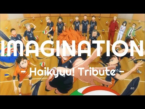 "Haikyuu! Tribute - ENGLISH ""Imagination"" OP 1 (Akane Sasu Sora)"