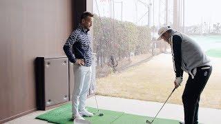中田英寿&安楽拓也/ドラコントッププロが明かす飛距離のカラクリ Part.2(デサント ゴルフ) thumbnail