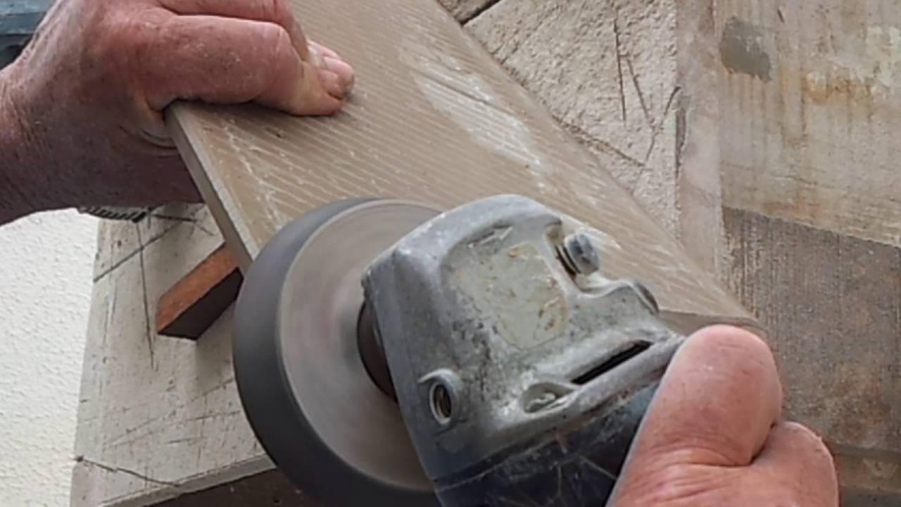 Cortando Porcelanato Em 45 Graus Com Mesa Caseira Youtube