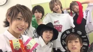徳井アイドルフェスティバル出演後の風男塾メンバーです。