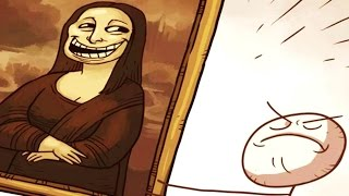 Trolla Lisa ! | Trollface Quest 3