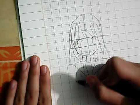[Speed Drawing] cách vẽ anime oc cực đơn giản , làm theo là bạn sẽ vẽ được anime nhé ( mô tả )