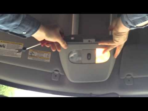 2006 Jeep Liberty Wiring Diagram Use Animal Research Dome Light Removal - Youtube