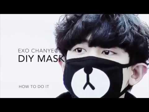 Panda Mask Template | Free Printable Papercraft Templates | 360x480