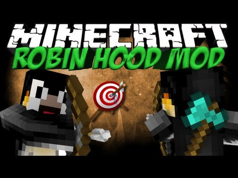 Robin Hood Mod: Minecraft HawkEye Mod Showcase! 100th Video!!