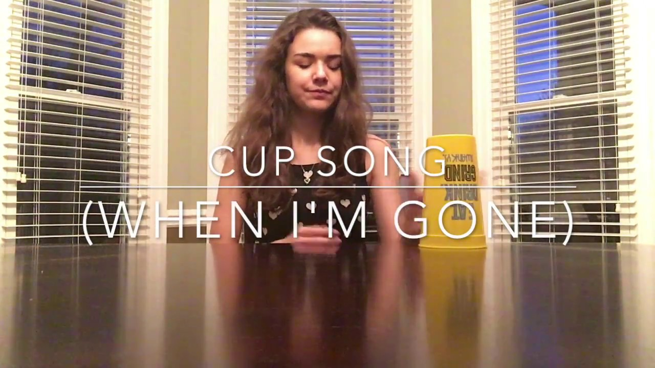cup song when i 39 m gone cover youtube. Black Bedroom Furniture Sets. Home Design Ideas