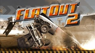 FlatOut 2 on Tablet, instruction, setting, gameplay for touch anyway