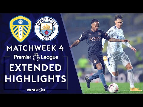 Leeds United v. Manchester City | PREMIER LEAGUE HIGHLIGHTS | 10/3/2020 | NBC Sports