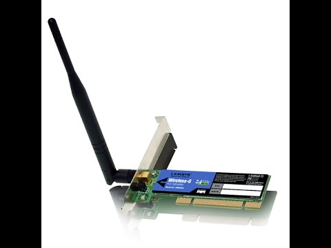 LINKSYS 54G PCI CARD DRIVER UPDATE