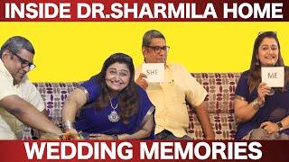 என் கணவர் பொய் நெறியே சொல்லுவார் - Dr Sharmila & Her Husband Wedding Memories | Interview EP-5