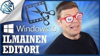 Ilmainen Windows 10 videoeditori