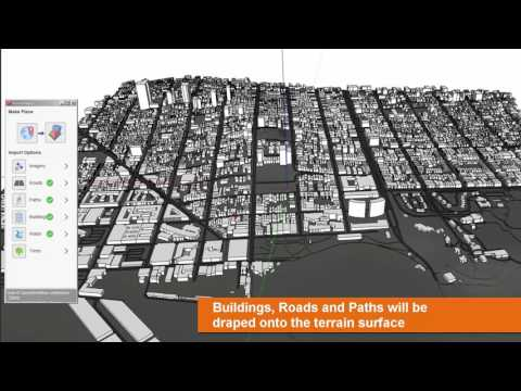 PlaceMaker Automated Terrain City Modeling