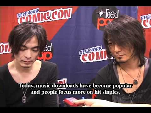 Boom Boom Satellites Interview from New York Anime Festival 2010