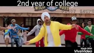 Life of an engineering student|| funny video||ft. garry sandhu ik tera sahara, punjabi songs