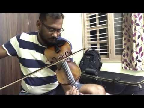 Ilaiyaraja Violin Cover   Rasathi Unnai Kanatha Nenju