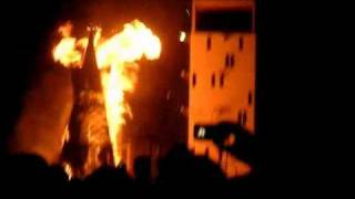 Burning Man - Metropolis Explosion