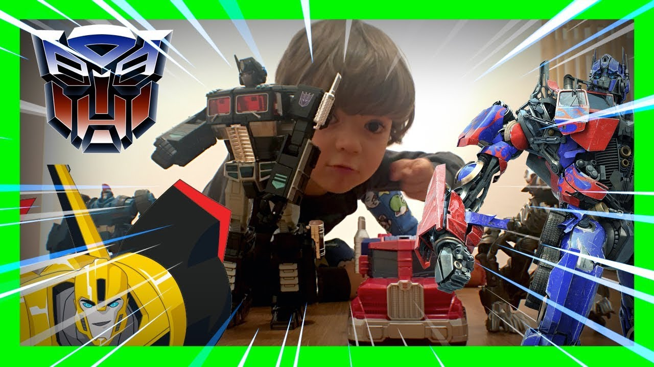 AKIM'S TRANSFORMERS TOY COLLECTION MOVIE