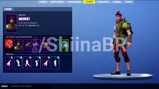 LEAKED *NEW* HACIVAT skin SHOWCASE Fortnite Battle Royale