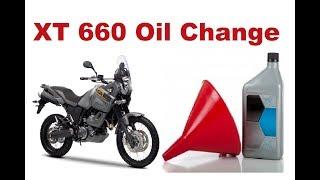 Ямаха ХТ 660 масла і зміна фільтра - покрокова інструкція