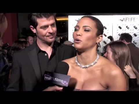 Paula Patton , Robin Thicke, Will Smith , Precious Red Carpet