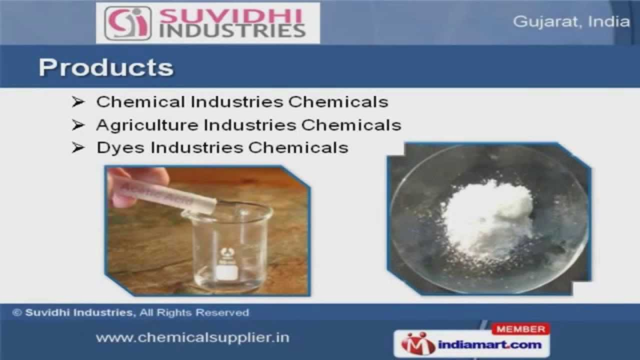 Industrial Chemical & Acids by Suvidhi Industries, Vapi