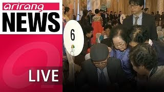 [LIVE/NEWSCENTER] South and North Korean families to spend 11 hours together over three days at..
