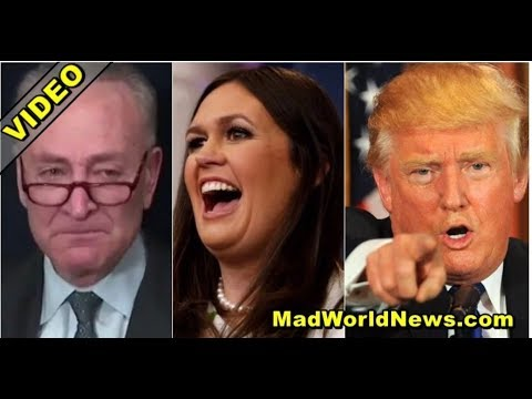 """AFTER CHUCKY SCHUMER CALLS TRUMP """"RACIST"""" ON TV SARAH MAKES HIM CRY WITH BRUTAL SURPRISE!"""