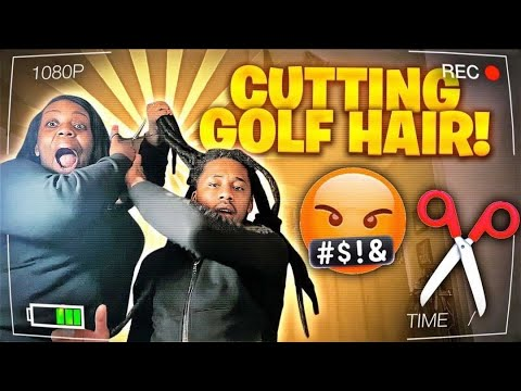 Omg I Cut Golf Dreads Offfff