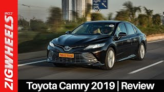 Toyota Camry 2019 Review | Reliably Insane! | Zigwheels.com