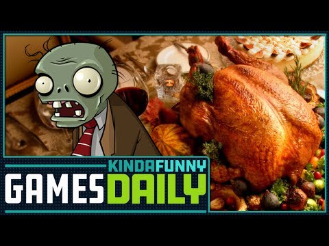 PvZ Drama, Gaming Thanksgiving - Kinda Funny Games Daily 11.21.17