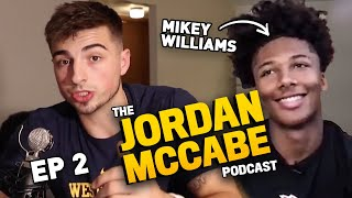 """""""I Dunked The First Time In 5th Grade."""" Mikey Williams Opens Up On The JORDAN MCCABE SHOW 🔥"""