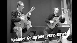 Meander Guitar Duo   MENUET ANTIQUE  -  MAURICE RAVEL (HD & Stereo)