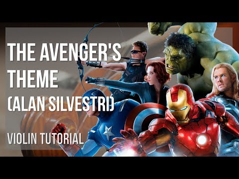 How to play The Avenger's Theme by Alan Silvestri on Violin (Tutorial)