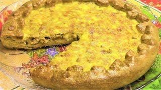 Попробуйте нежный и очень вкусный пирог с консервированными кальмарами! Вкусно!