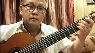 Bông Hồng Cài Áo (Phạm Thế Mỹ - lời: thiền sư Thích Nhất Hạnh) - Guitar Cover