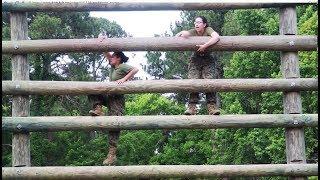 USMC Boot Camp: Confidence Course, Parris Island 2018