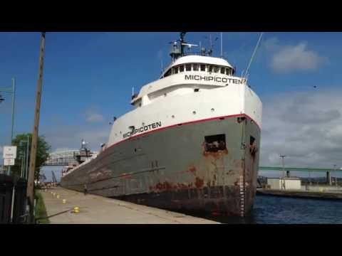 Great Lakes Freighter Michipicoten
