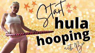 Start Hula Hooping with Bee Varga The HulaHooper 💗💪😊