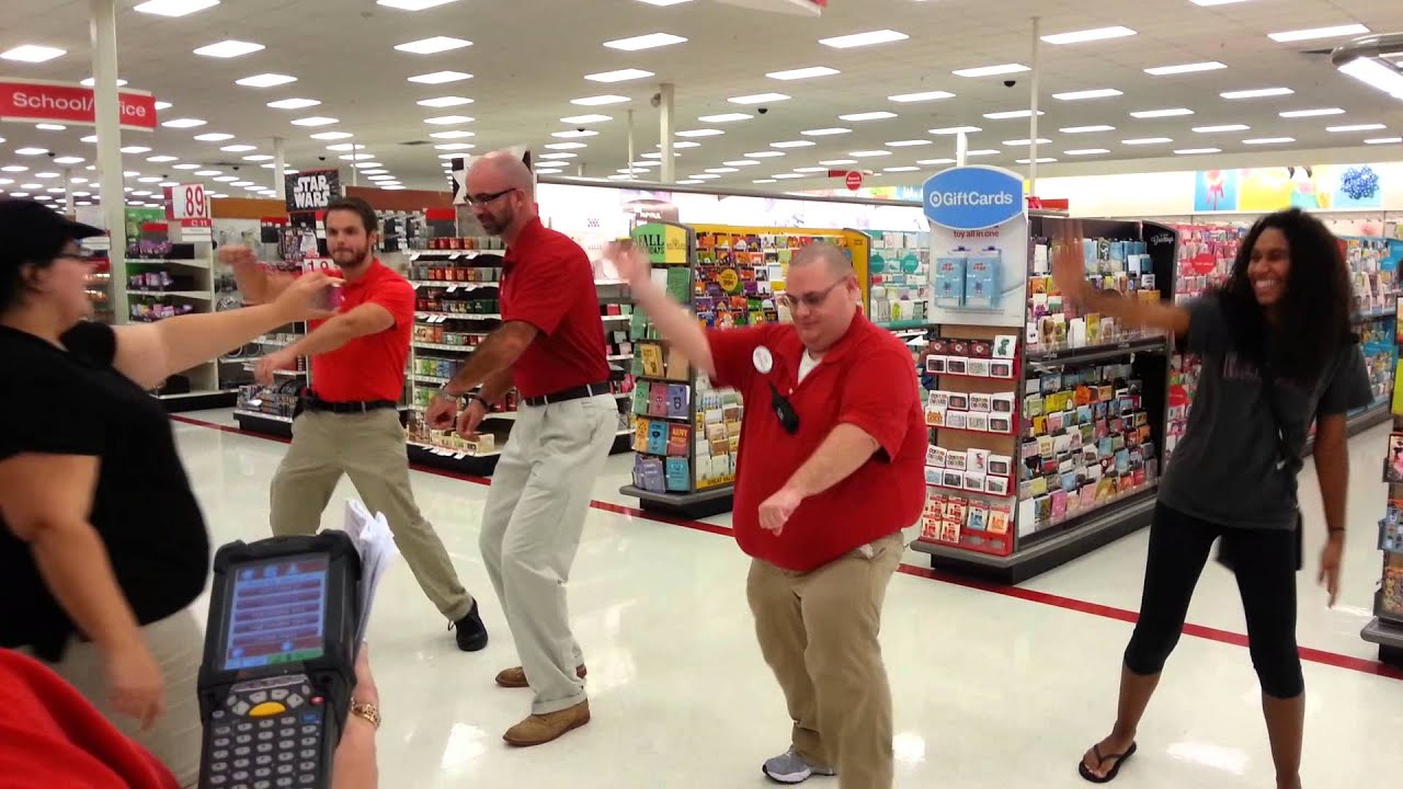 Target ETL's doing the Nae Nae for Redcards - YouTube
